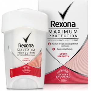 Дезодорант Rexona Maximum Protection Sport Strength, 45 мл